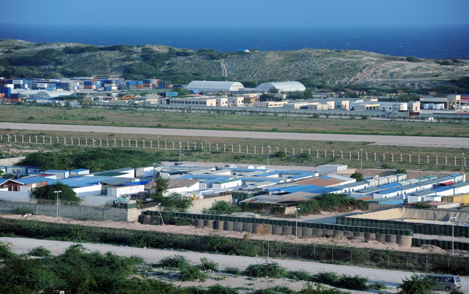 Mogadishu airport