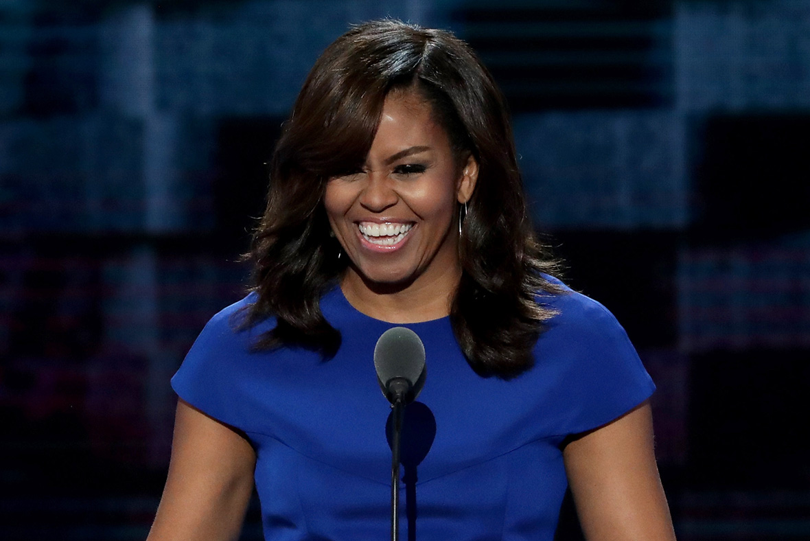 Dnc 2016 Michelle Obama Made A Powerful Statement With