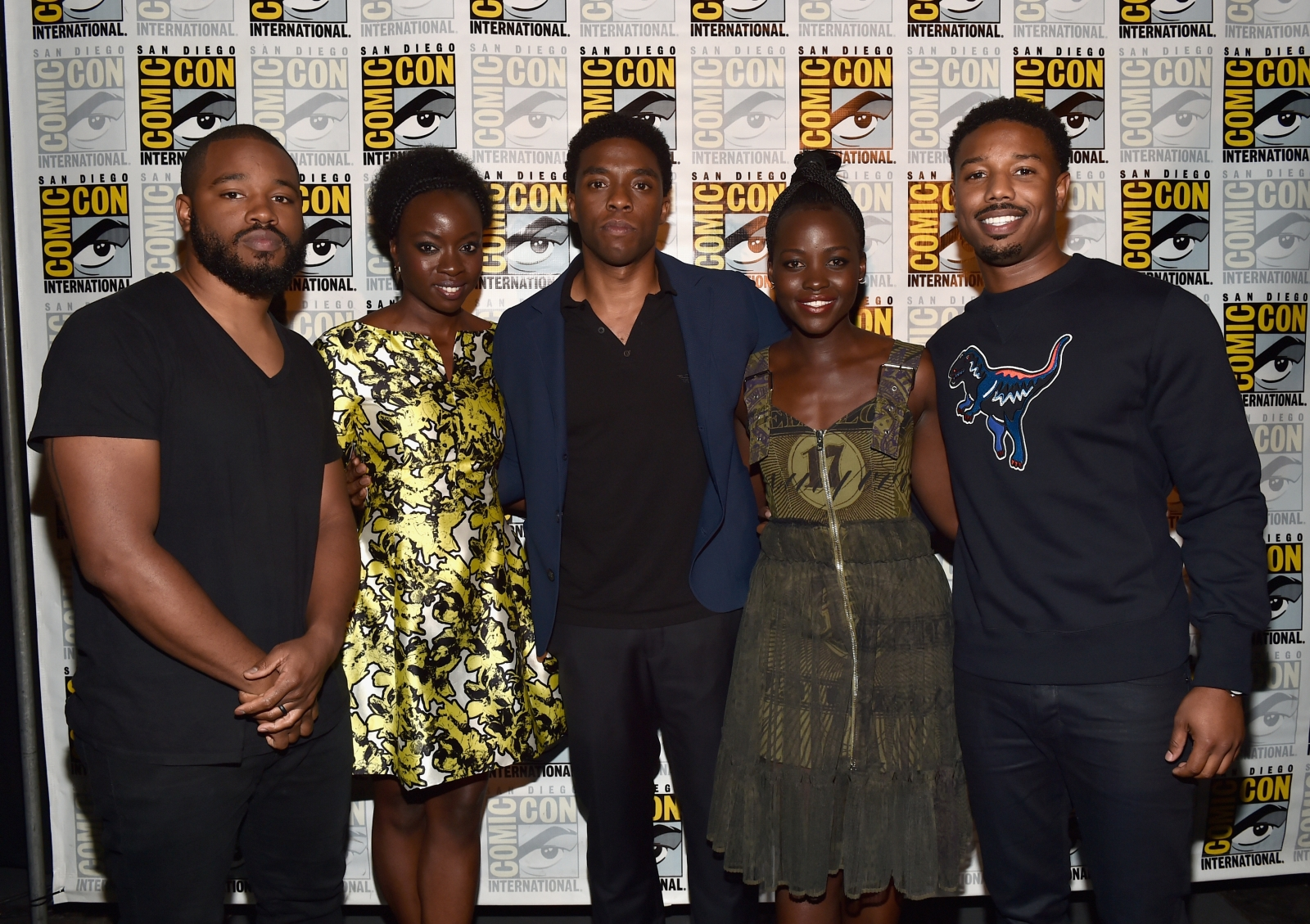 Black Panther cast and director