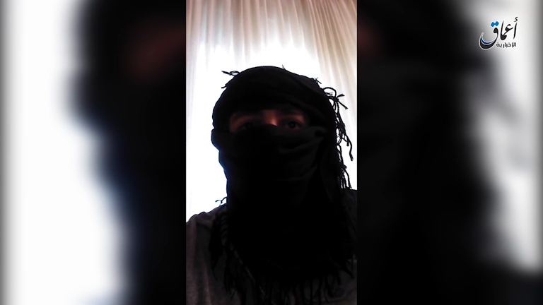 Isis release video purportedly showing Ansbach suicide bomber