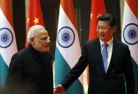 India-China leaders