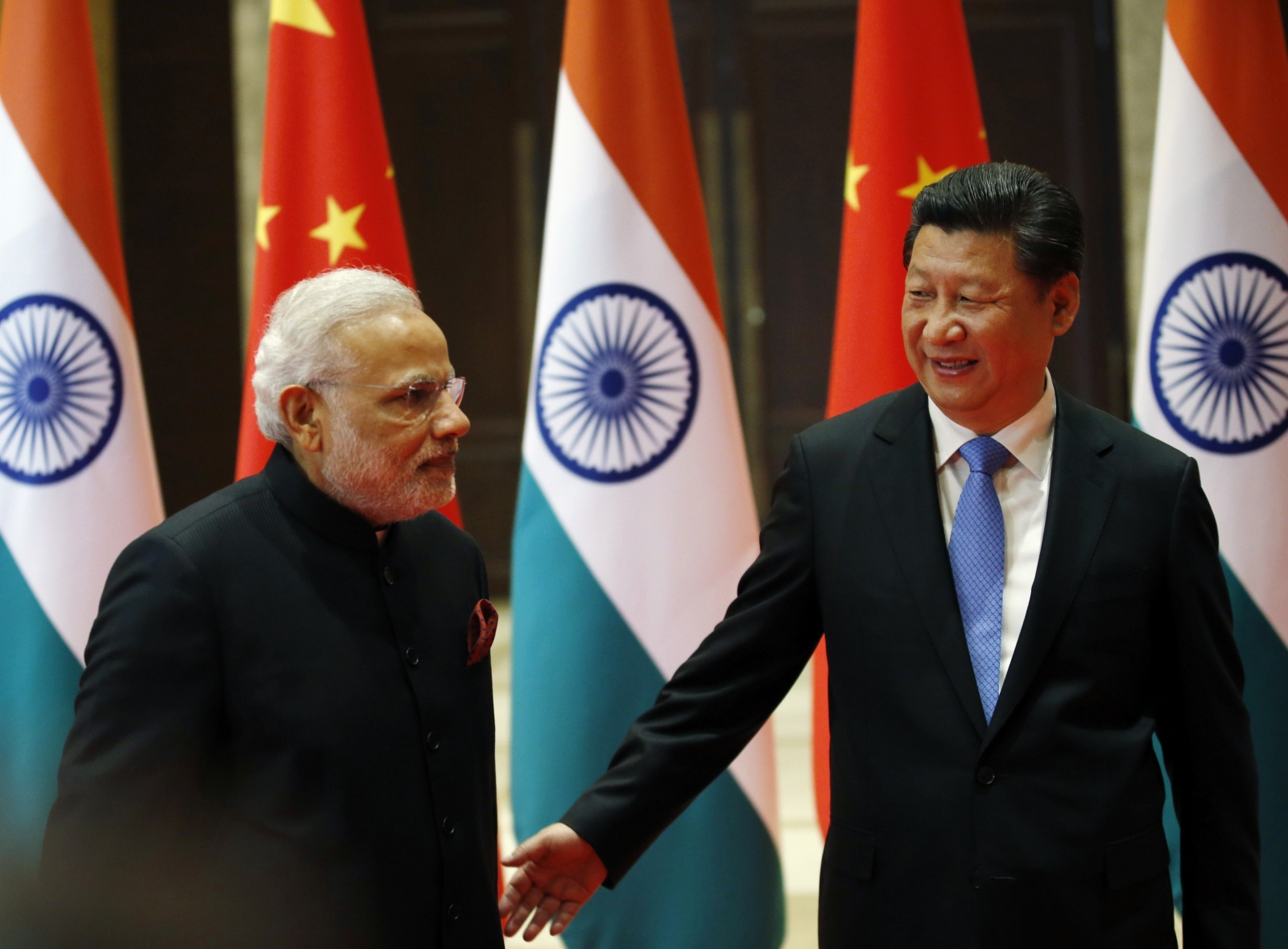 India-China leaders