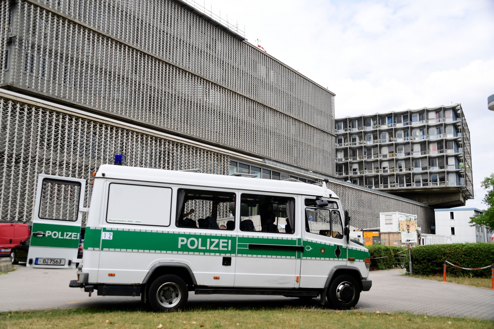 Berlin hospital shooting