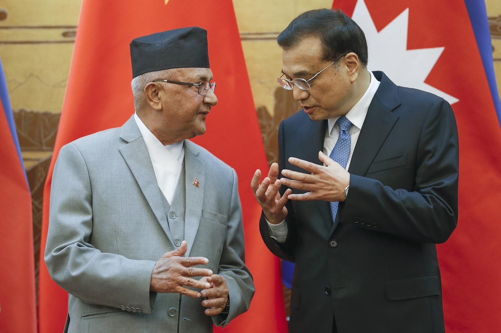 China and Nepal