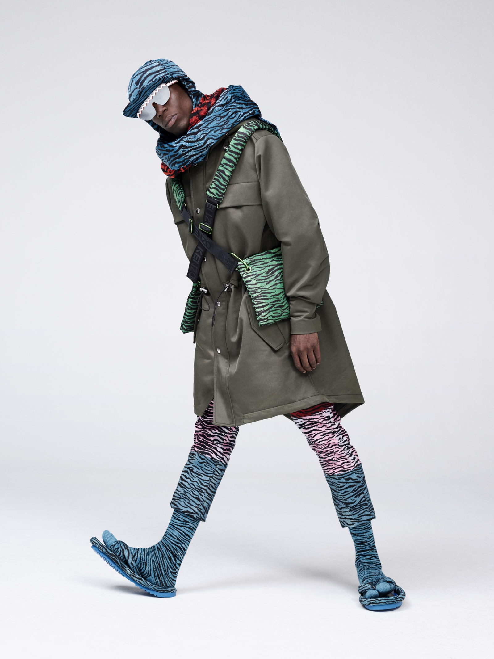 kenzo x h&m first look