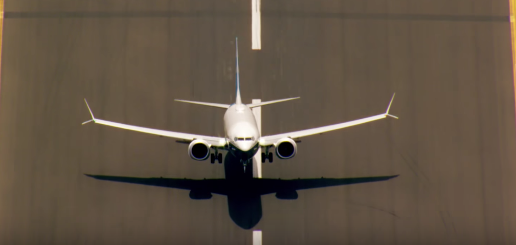 Boeing 737 MAX test flight video