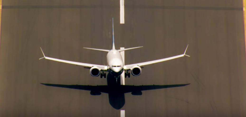 Boeing 737 MAX test flight video