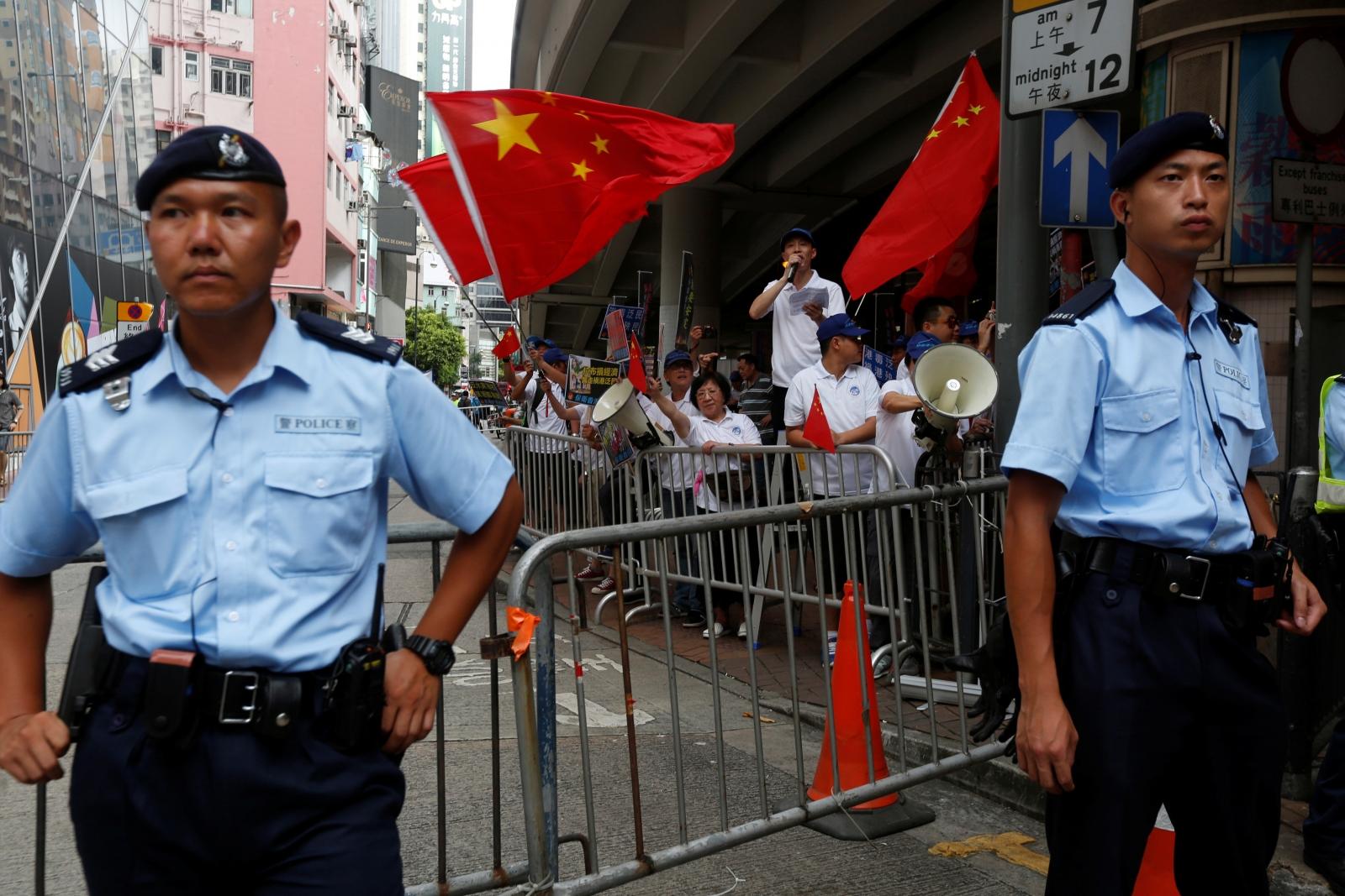 Hong Kong journalists China