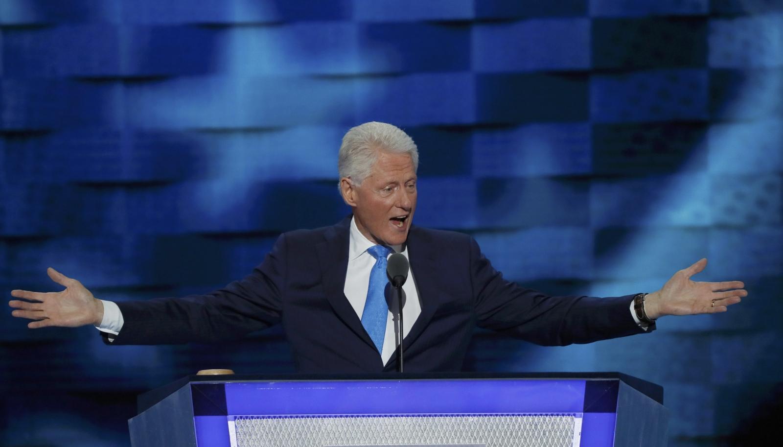 Bill Clinton DNC speech