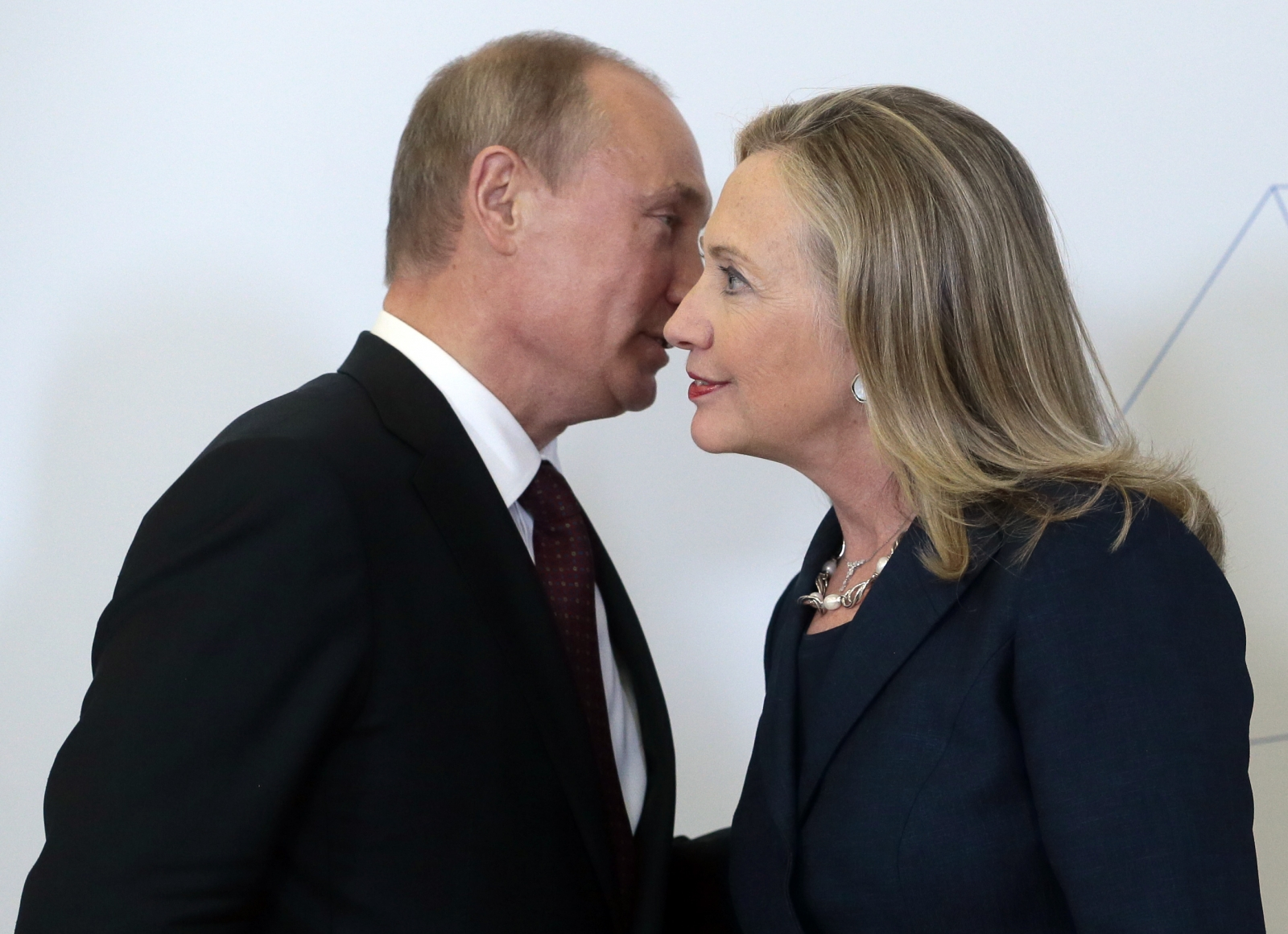 Vladimir Putin and Hillary Clinton (2012)