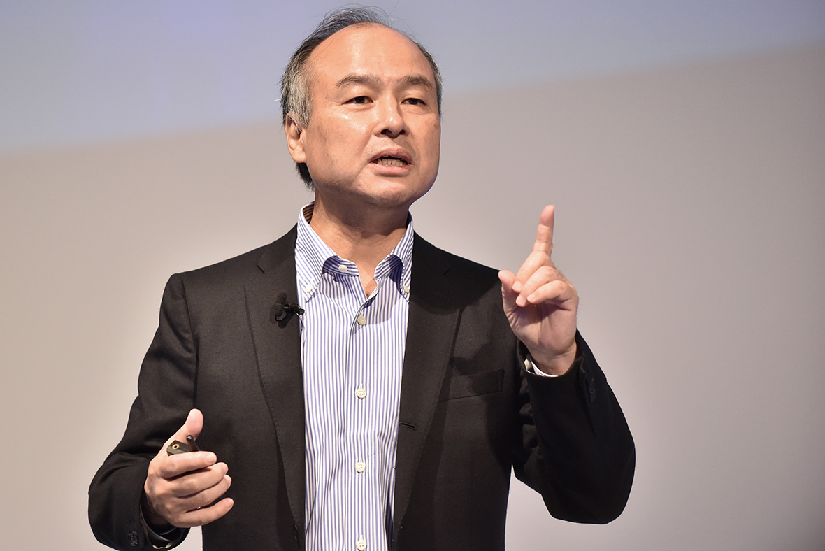 softbank ceo predicts 39 information revolution 39 as ai and big data combine forces. Black Bedroom Furniture Sets. Home Design Ideas