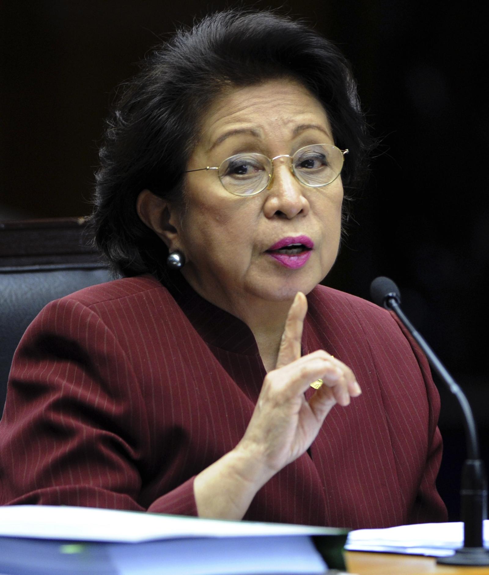 Philippines Ombudsman Conchita Carpio-Morales