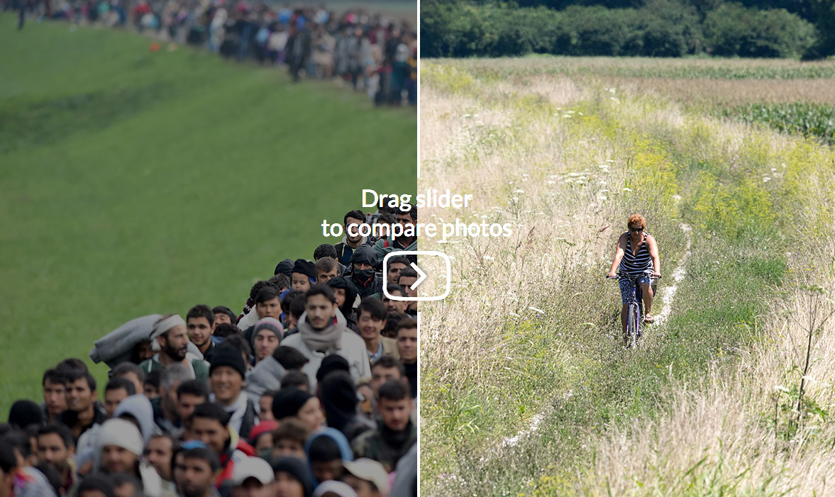 Migrant crisis then and now