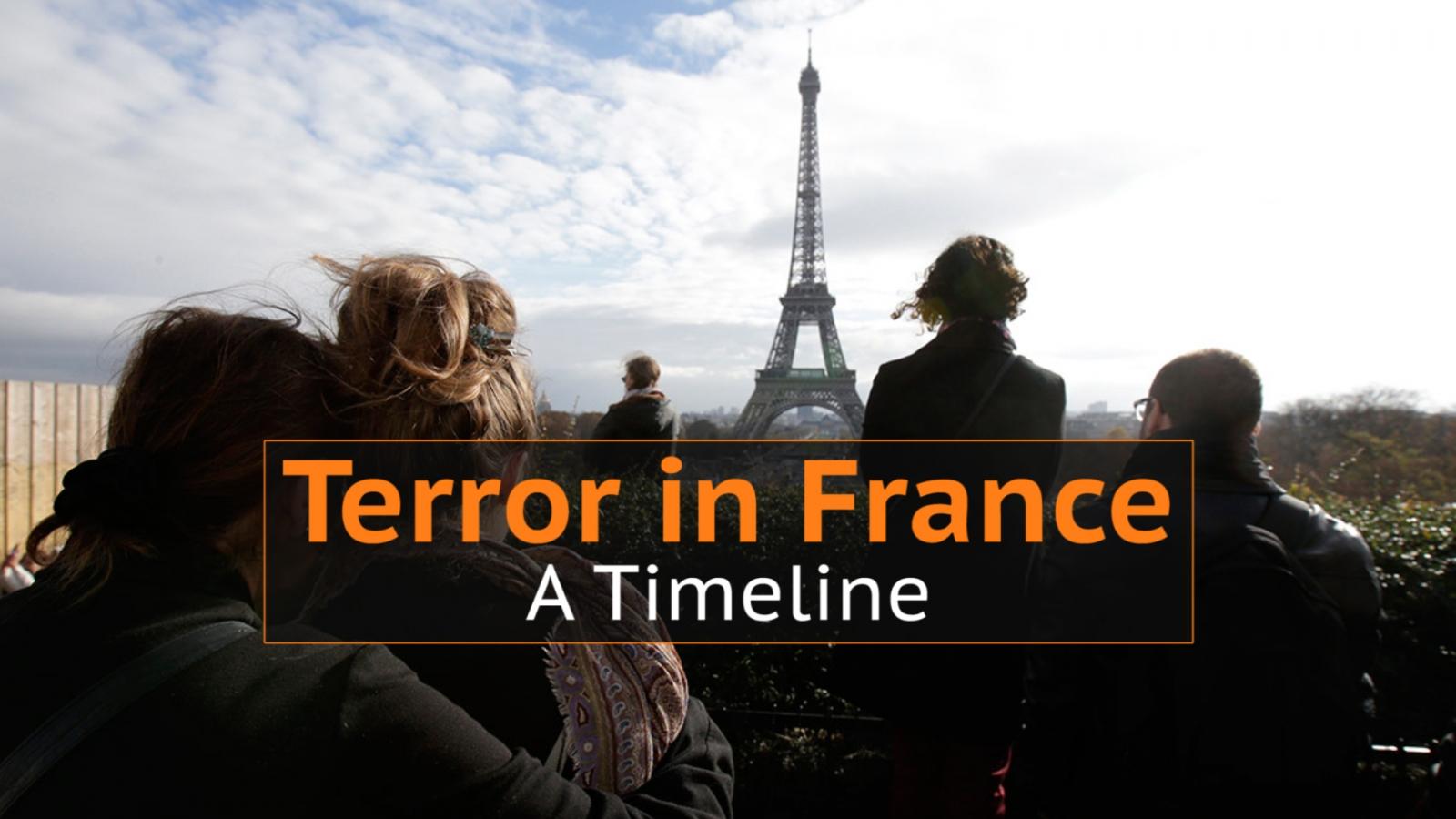 Terror in France: A Timeline