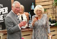 Prince Charles and Camilla visit Sandringham