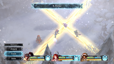I Am Setsuna combo attack