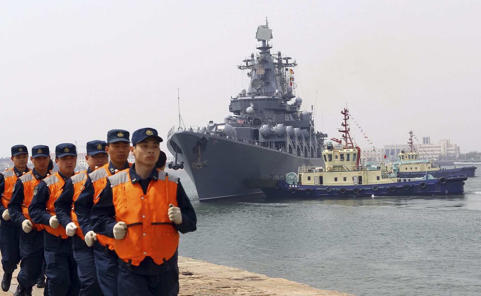 Russia China joint navy drill