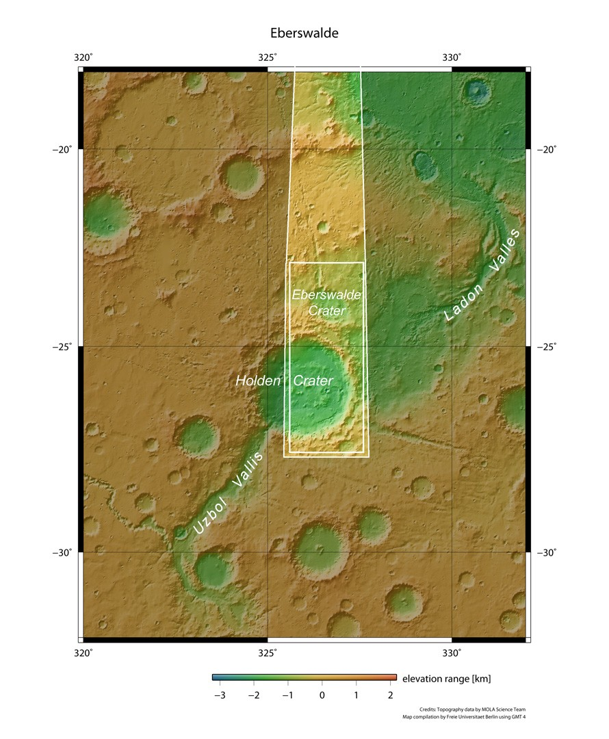 European Space Agency Finds Evidence of Massive Lake on Mars