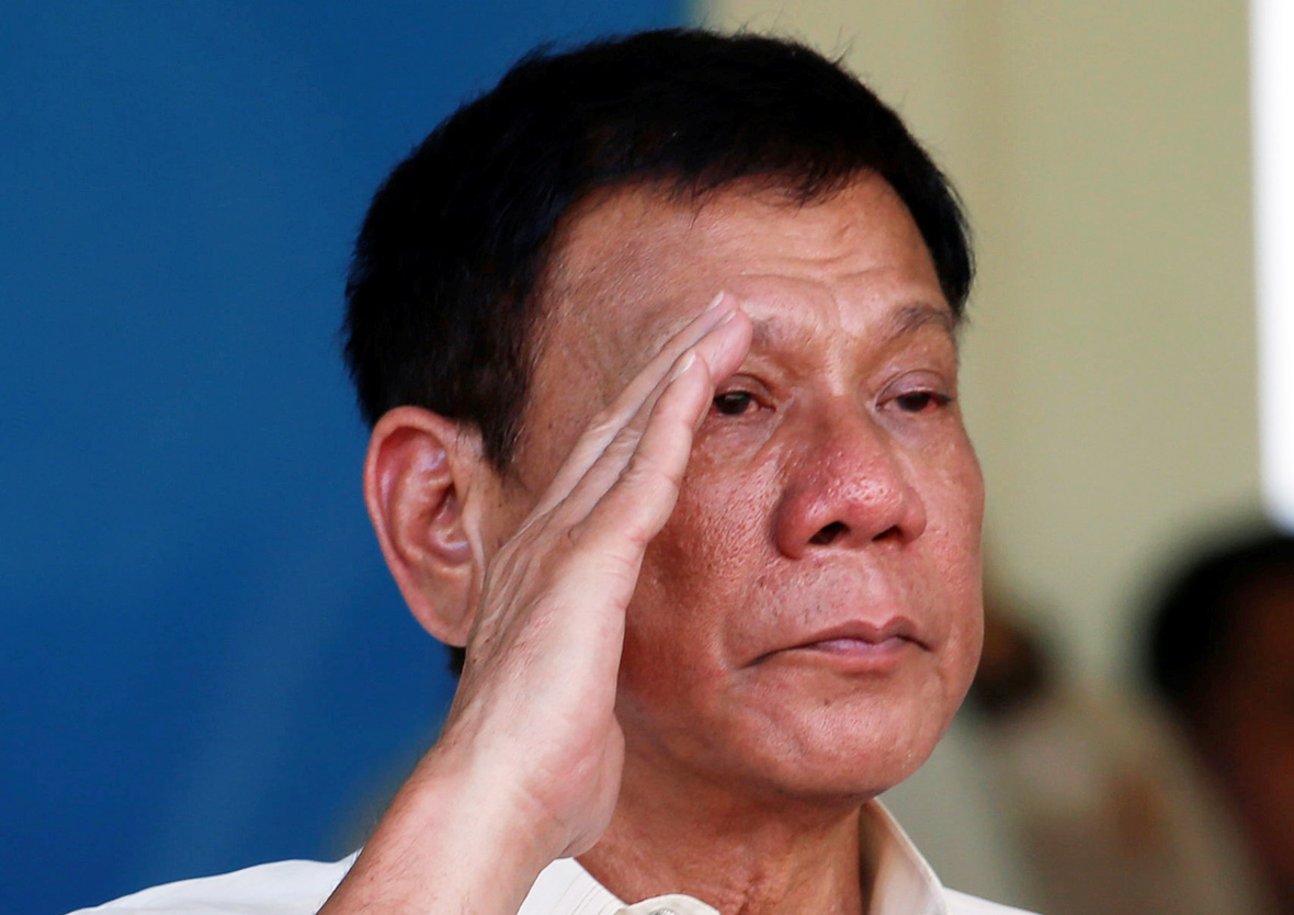 Philippine president lifts unilateral truce with leftist rebels