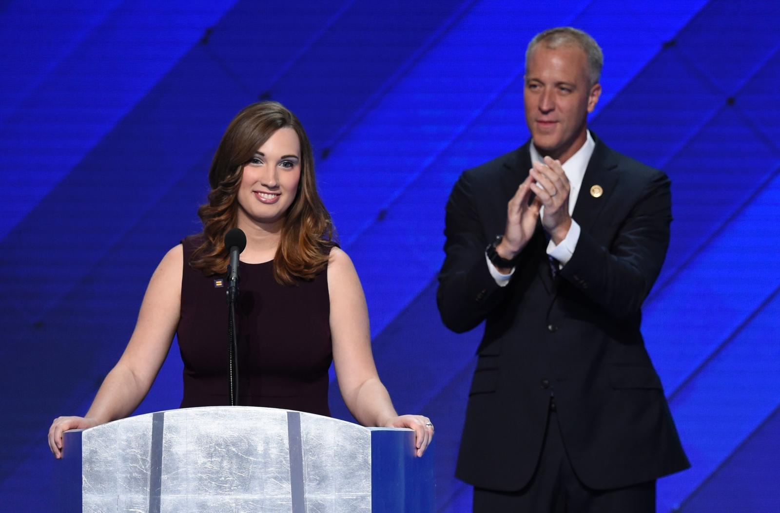 Sarah McBride at the DNC