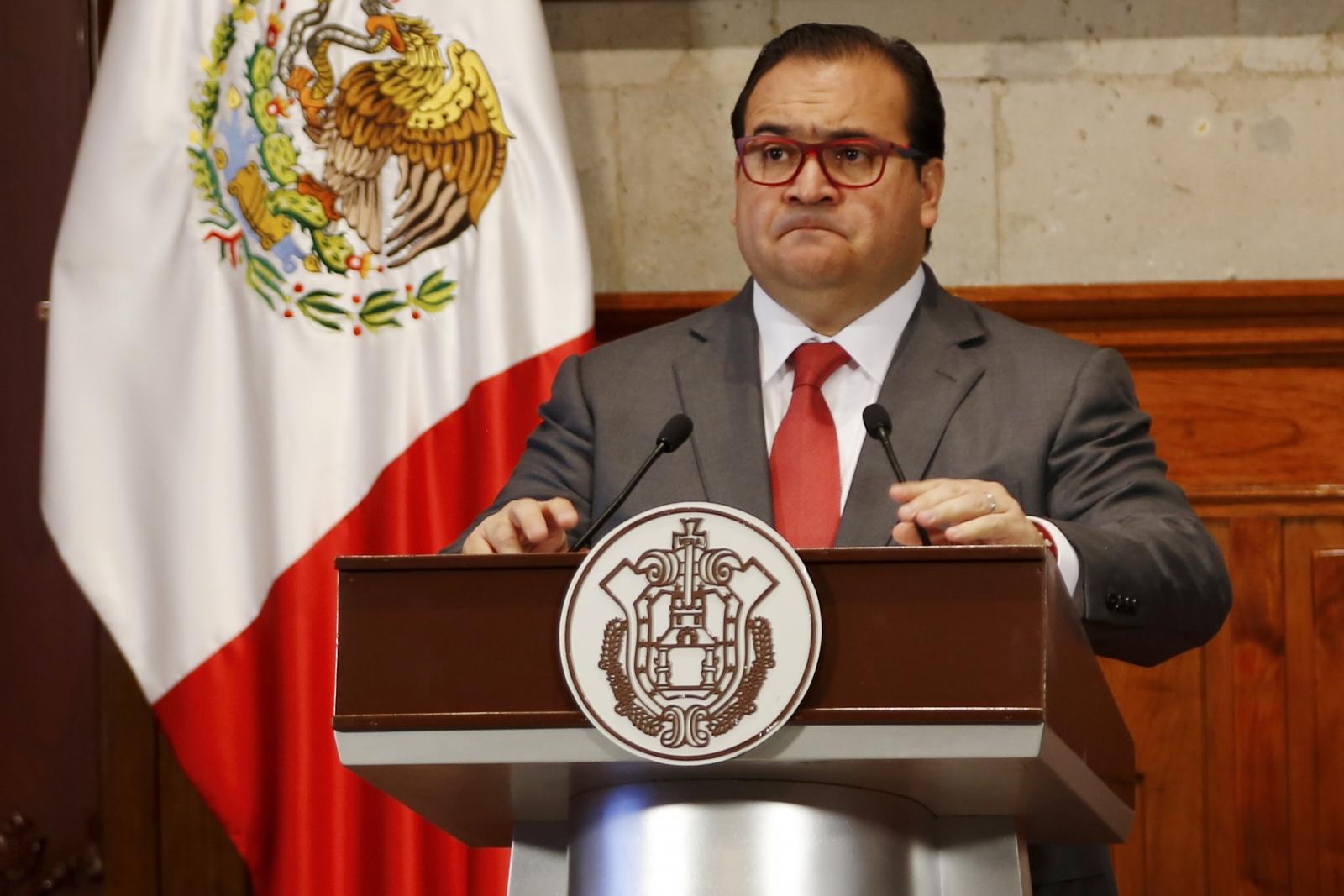 Mexico's Veracruz Governor Javier Duarte