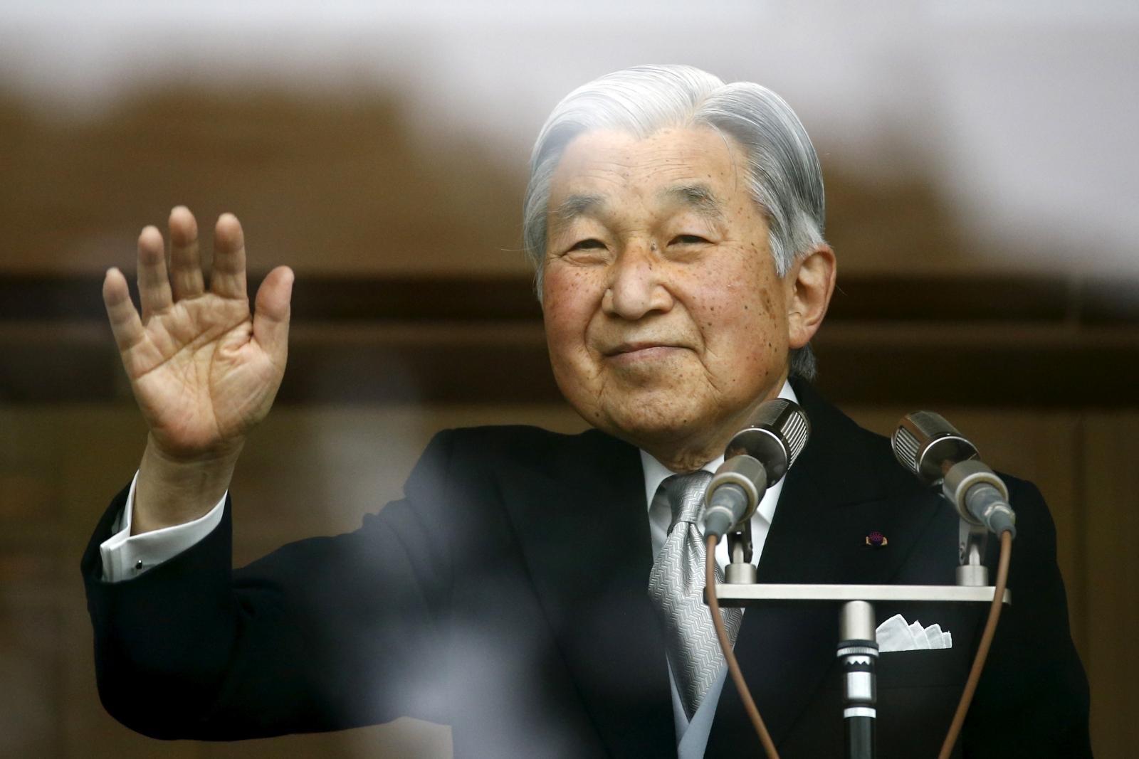 Japan Emperor Akihito abdication