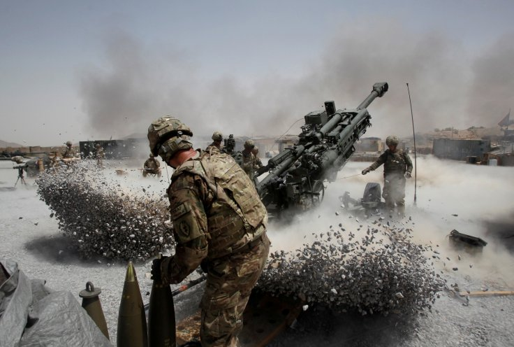US troops in Afghanistan