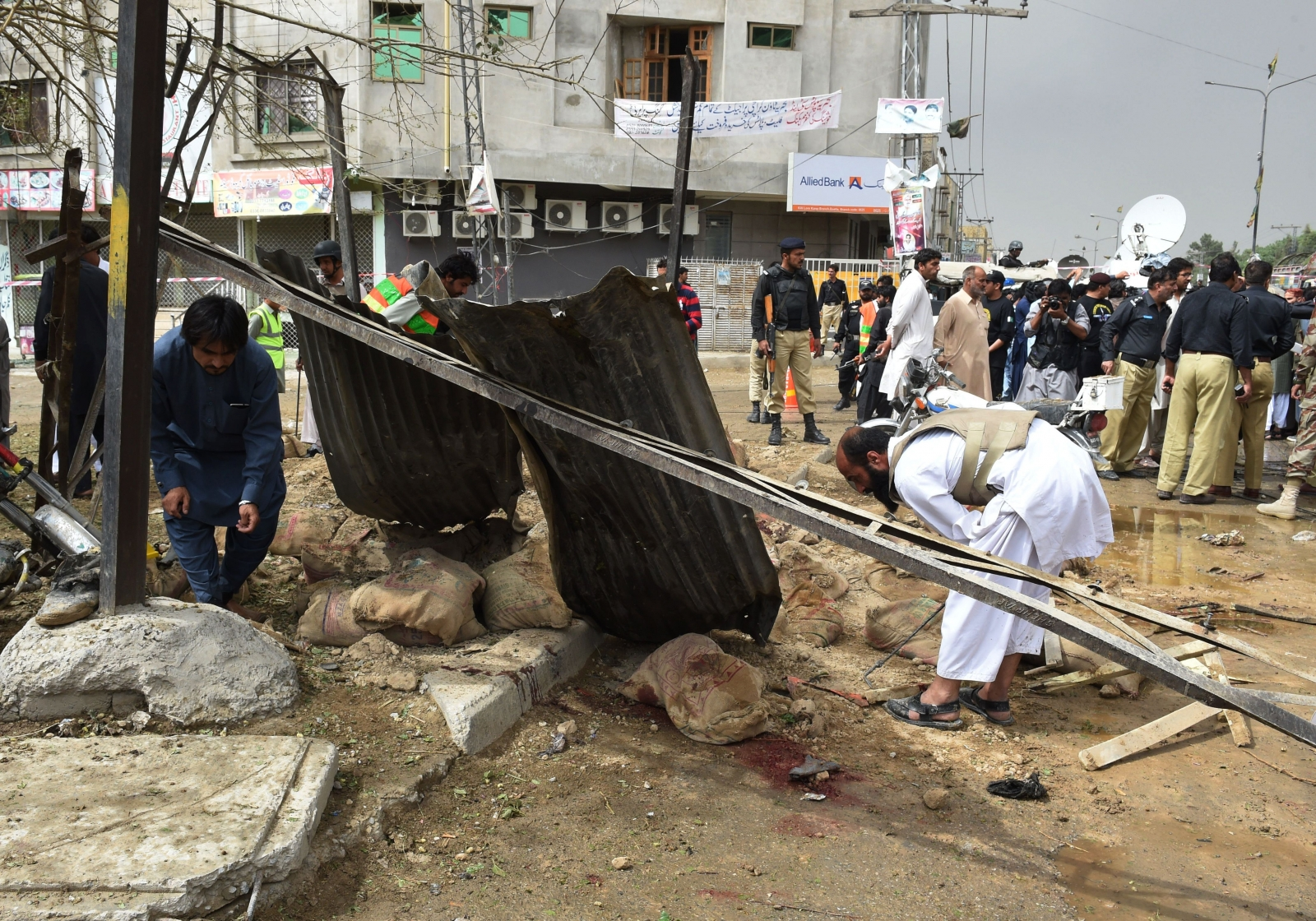 Bomb blast Pakistan
