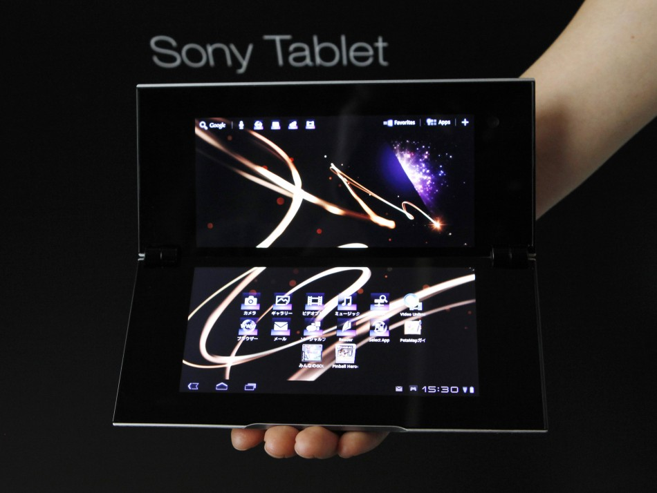 Sony Corp.'s Tablet S.