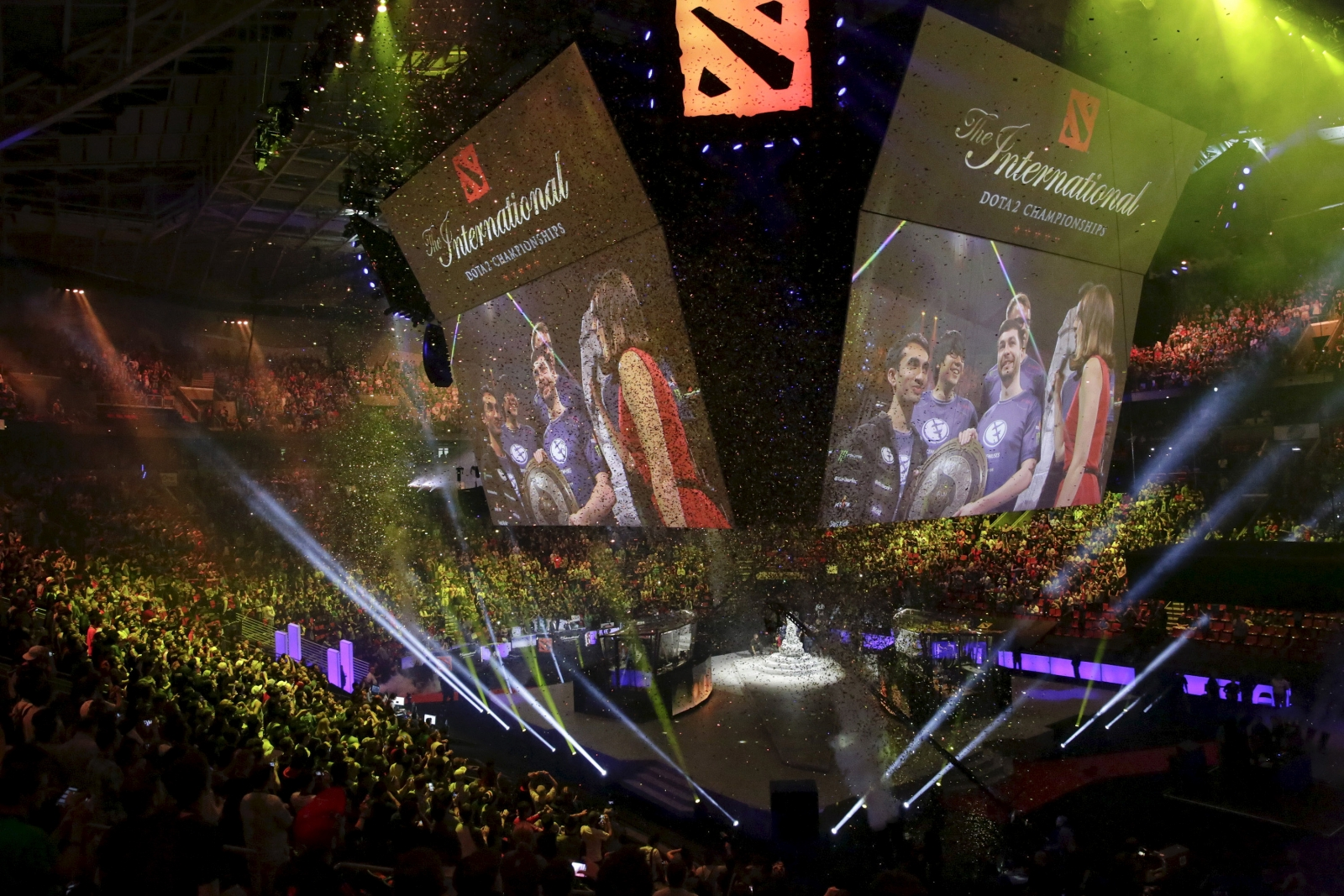 Dota 2 The International winners