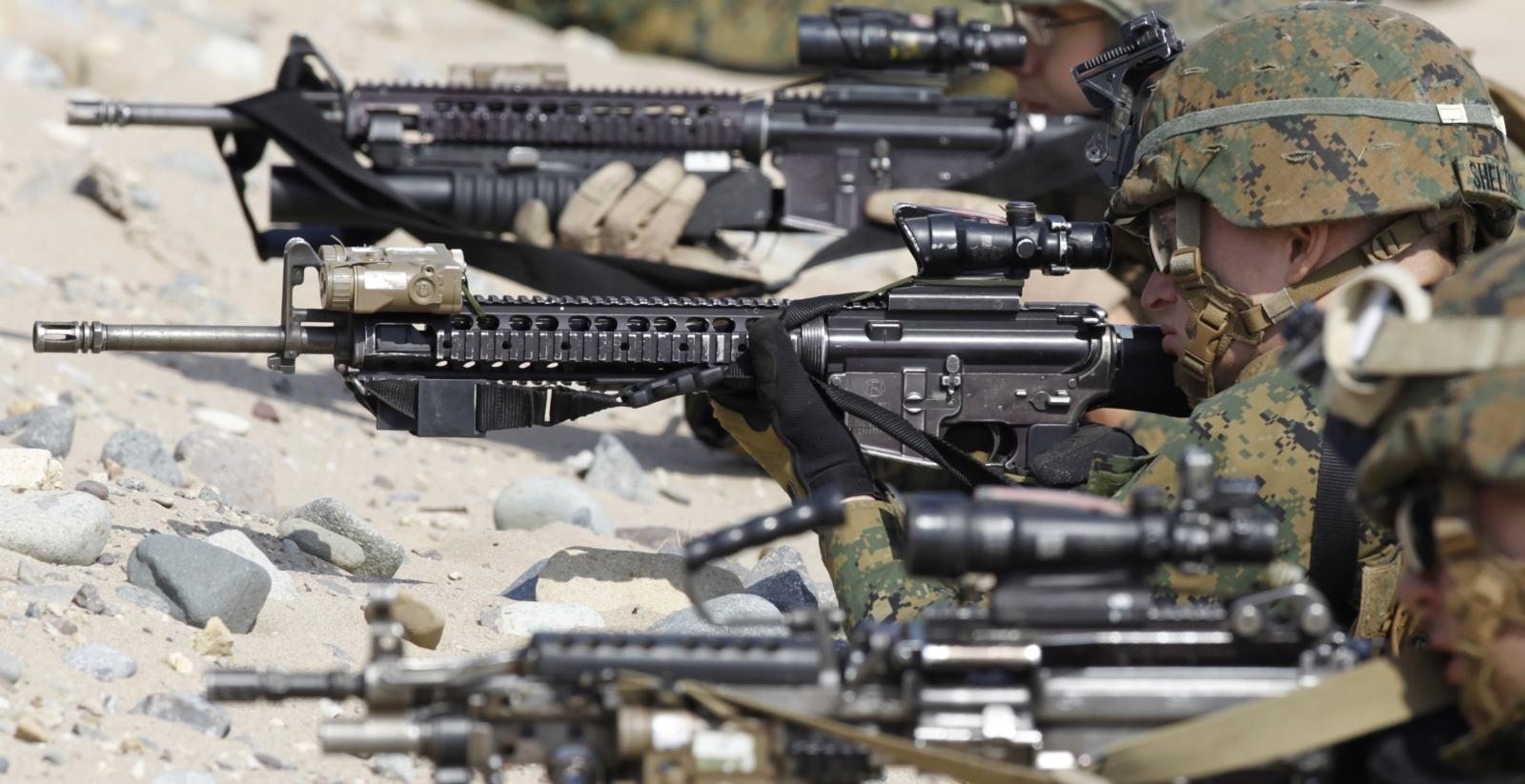 US Army guns