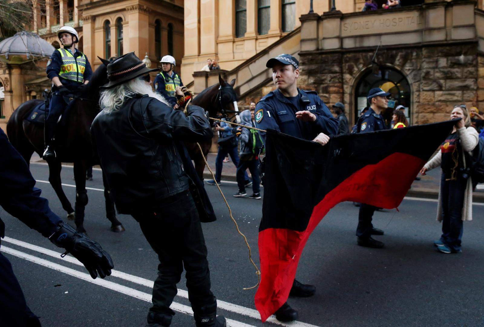 Australia protests