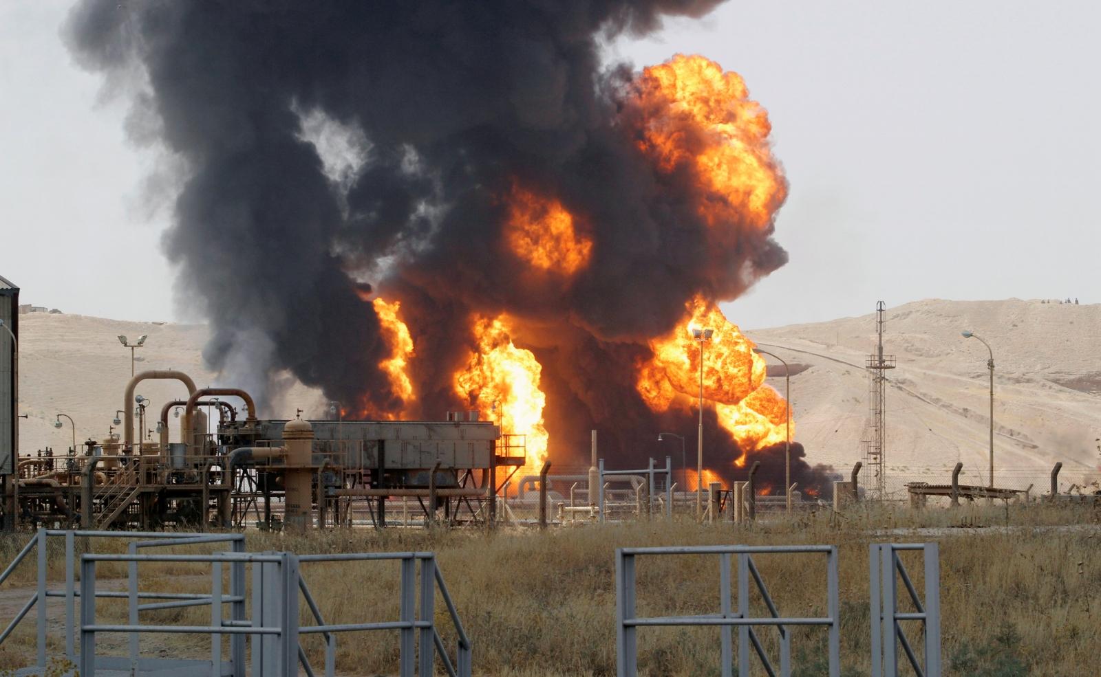 Kirkuk energy plant