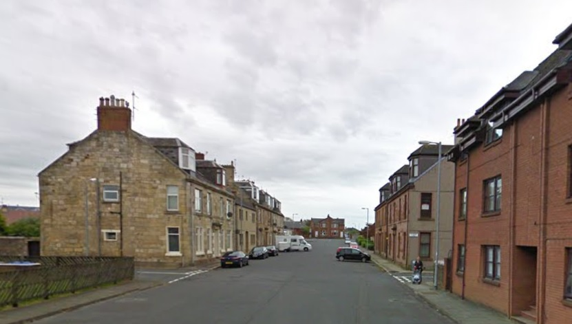 Seton Street Ardrossan Scotland attack