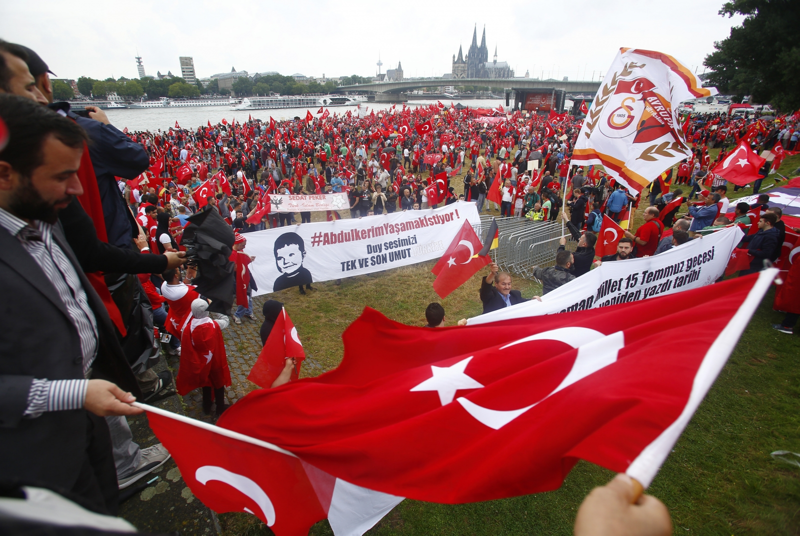 Erdogan rally Cologne
