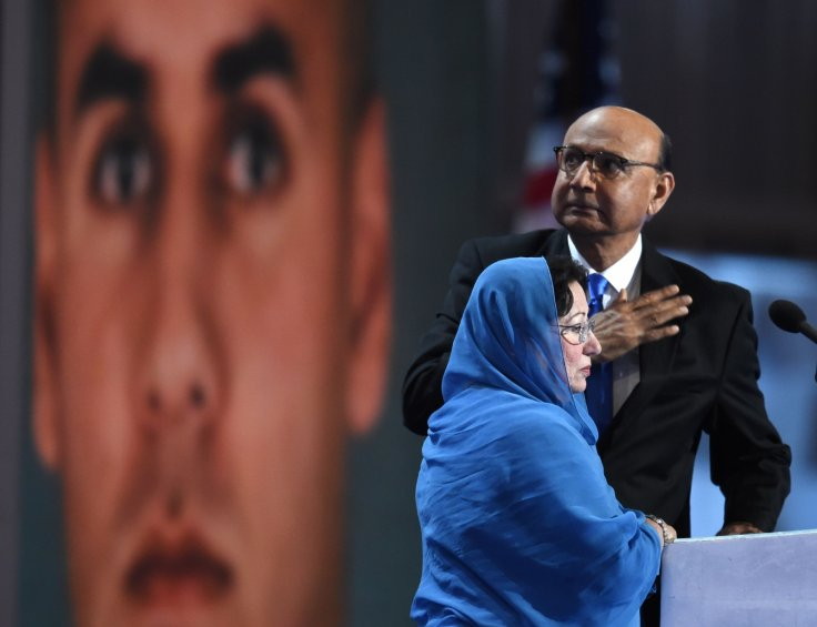 Ghazala and Khizr Khan