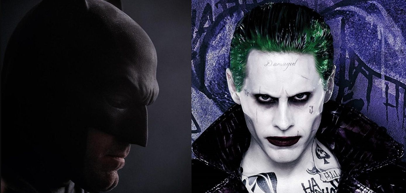 ben affleck batman movie will the joker played by jared leto face
