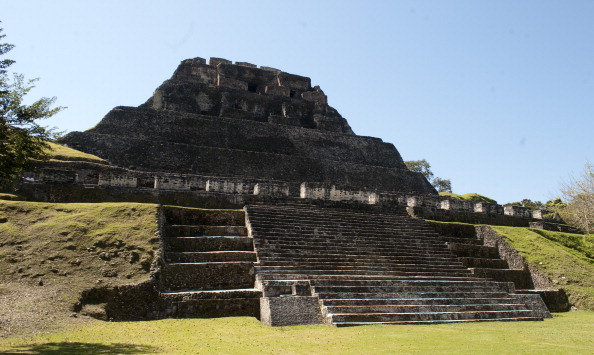 Belize Mayan tomb