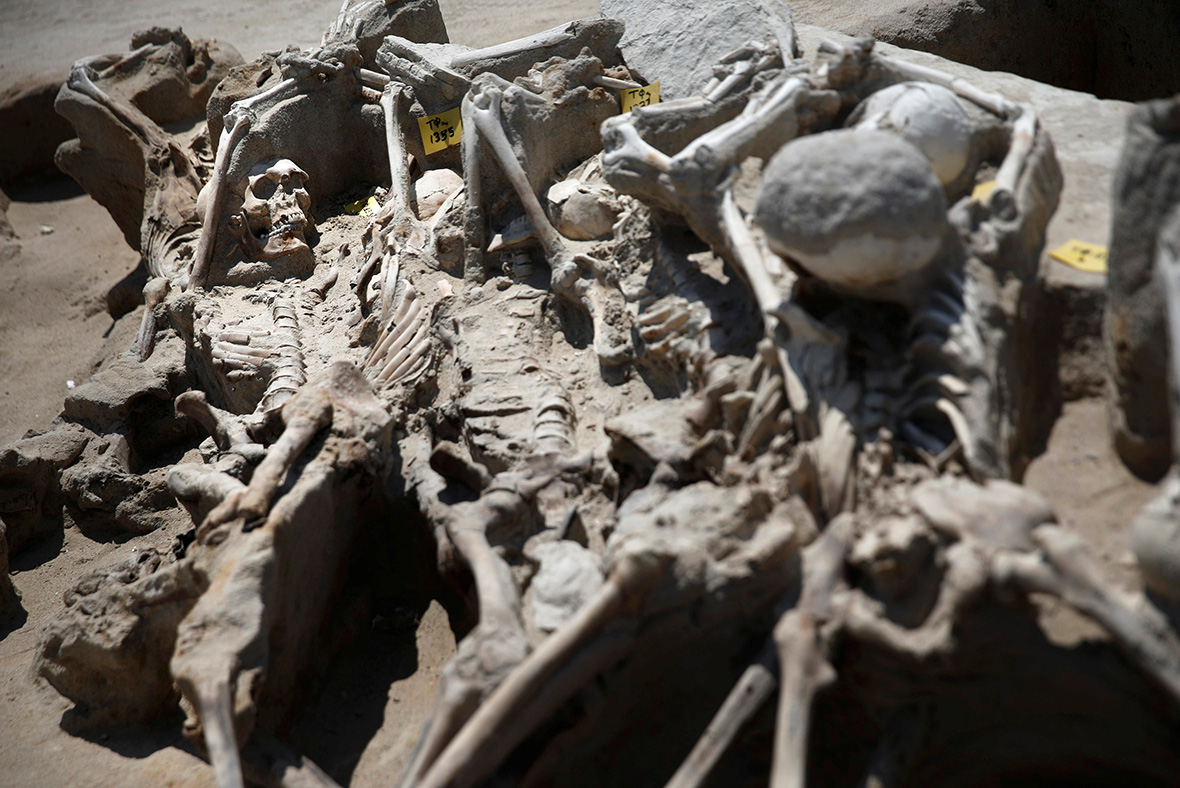 Skeletons Of Rebels Clamped In Iron Shackles Found In