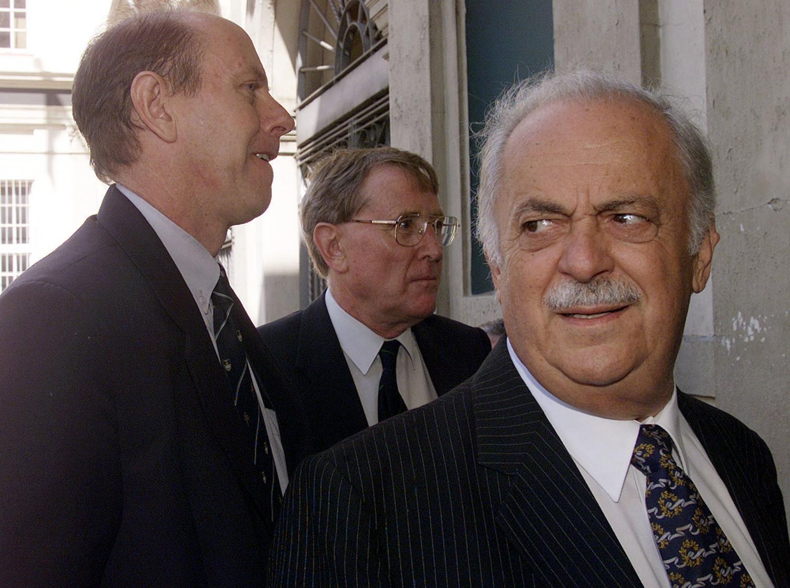 Lawyer George Bizos