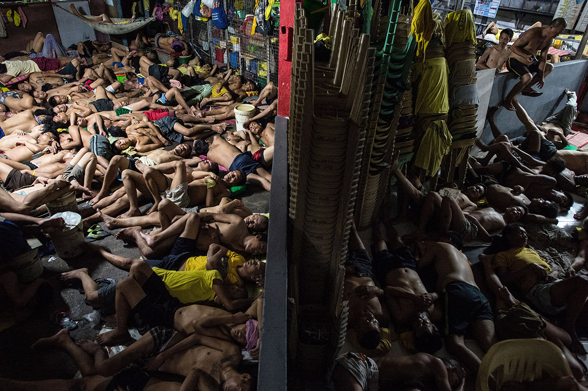 Philippines overcrowded prison Quezon jail