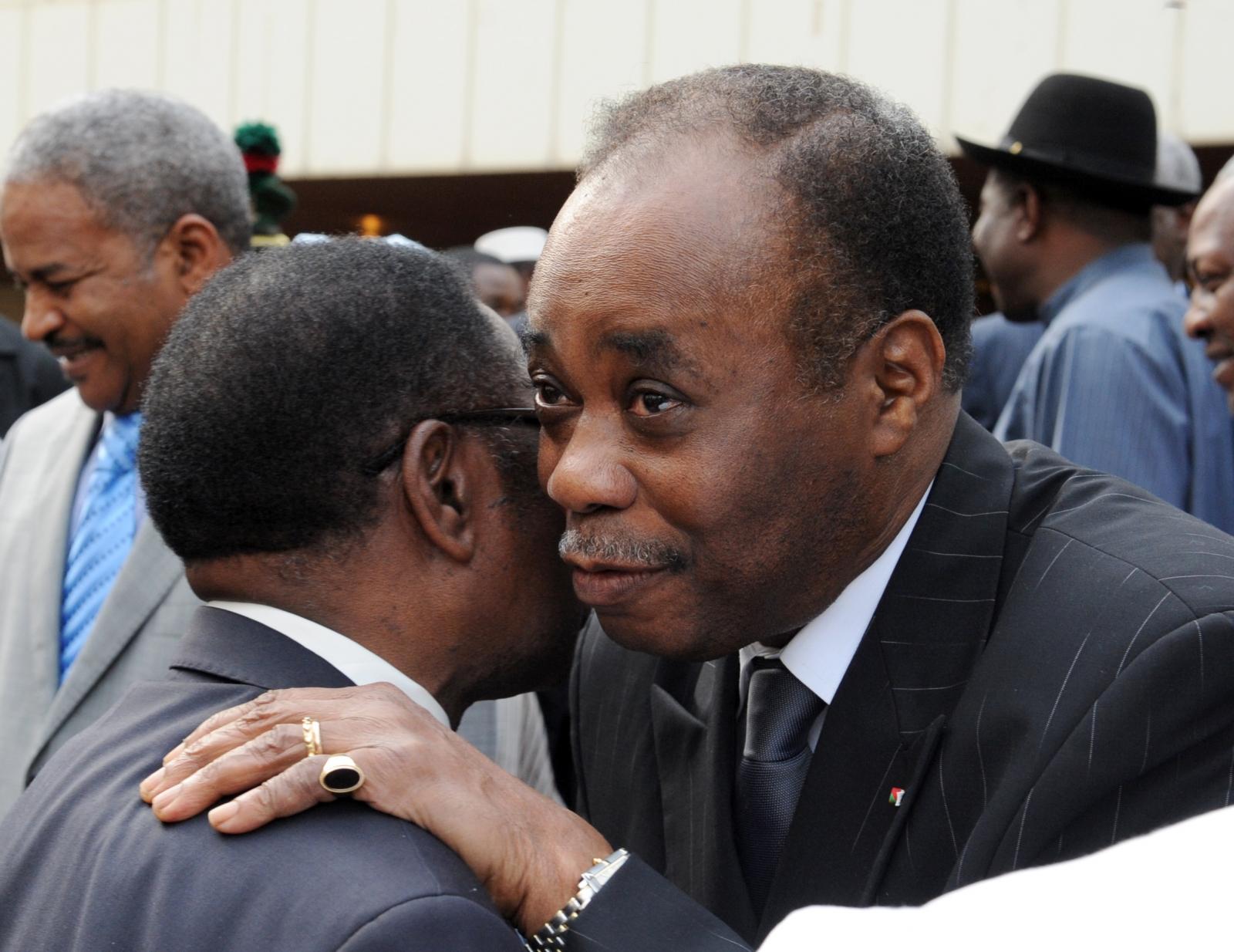 DRC dialogue facilitator Edem Kodjo