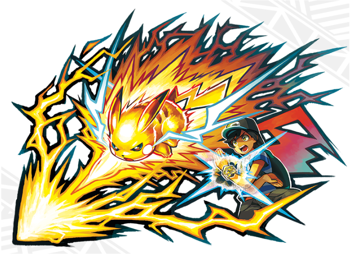 Pokemon Sun and Moon z-ring z-moves