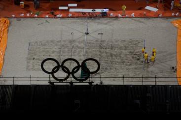 Olympic Beach Volley ball stadium