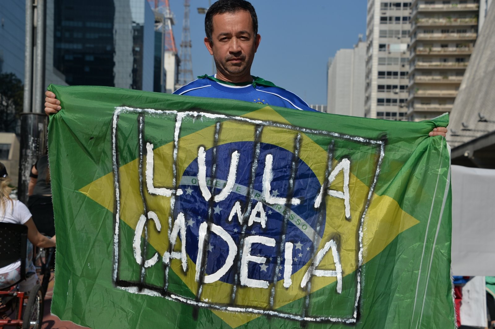 Anti-government protest in Brazil