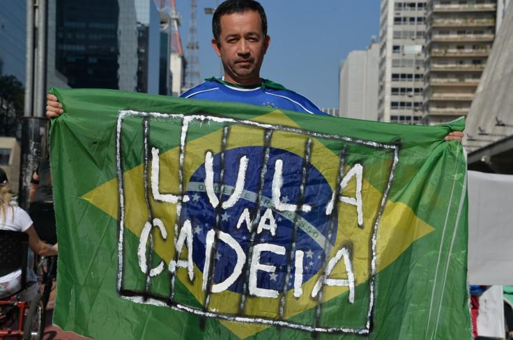 Anti-government protest in Brazil