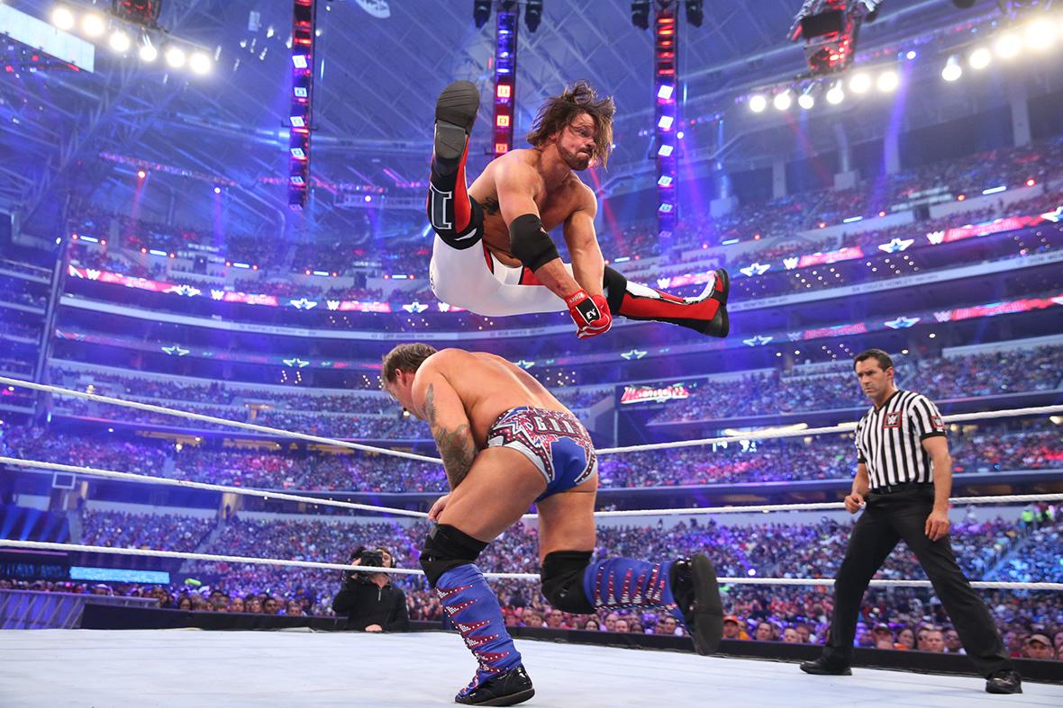 AJ Styles vs Chris Jercicho