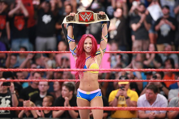WWE superstar Sasha Banks
