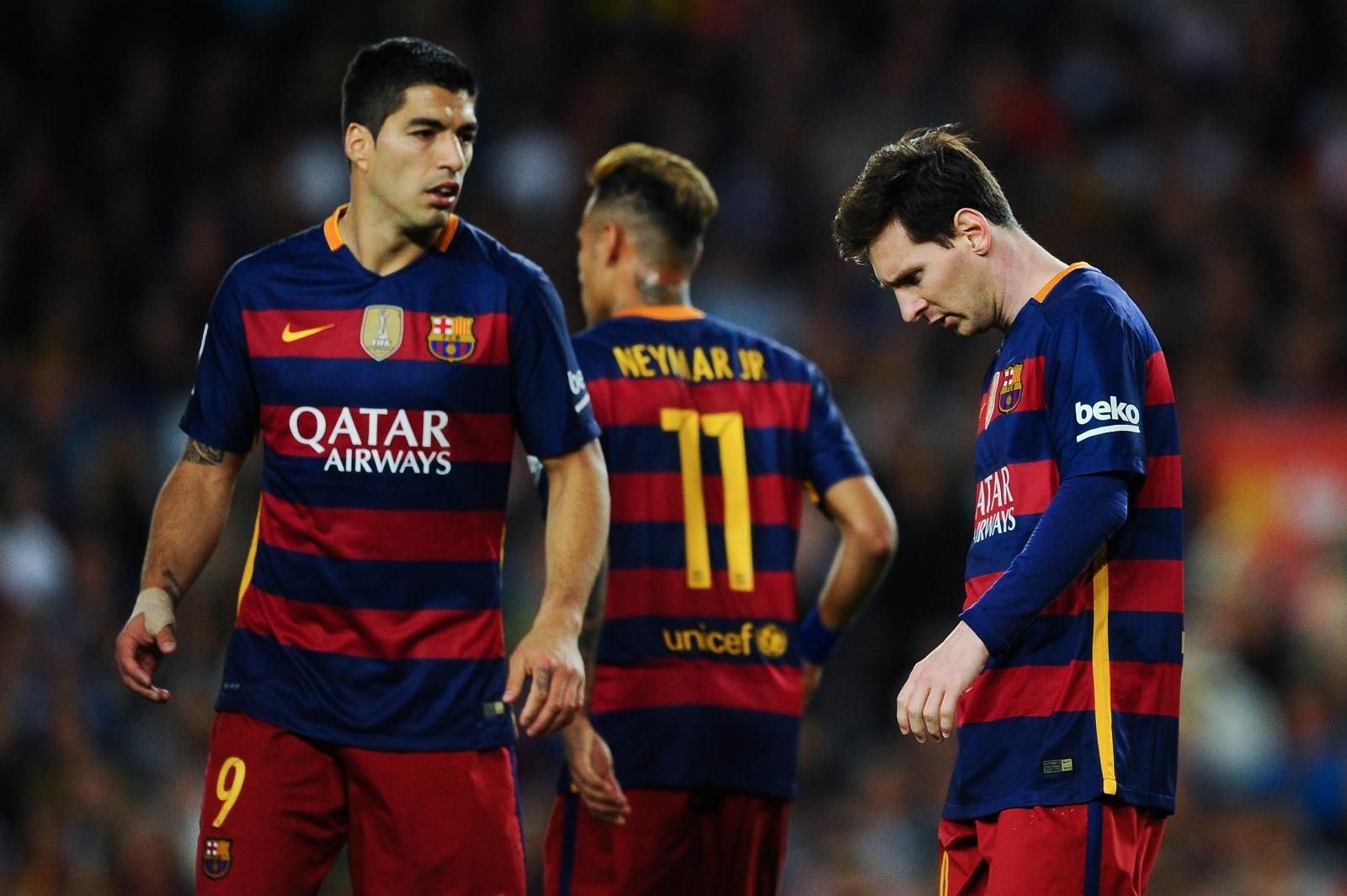 Messi, Neymar, Suarez