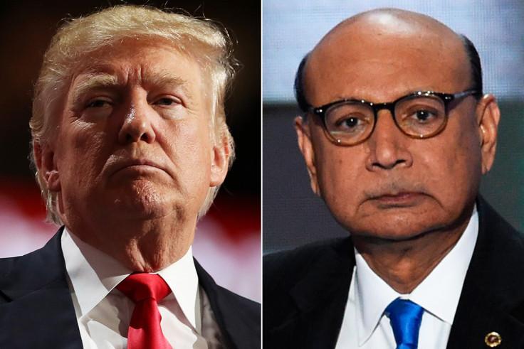 Trump, Khan